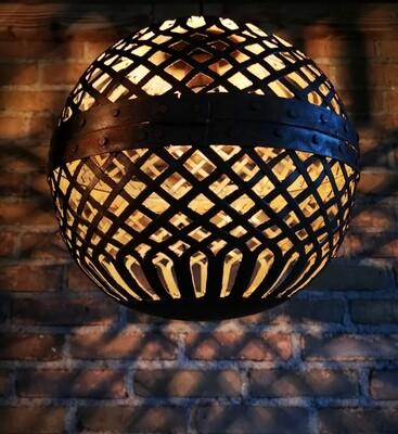 Let op: PRE ORDER september! Hanglamp metalen bal L