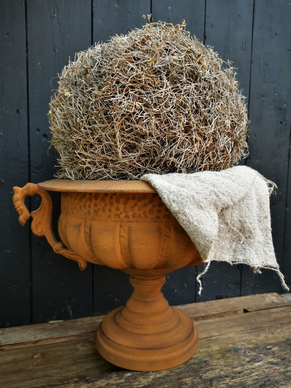 Decoratie bal van takken 25cm