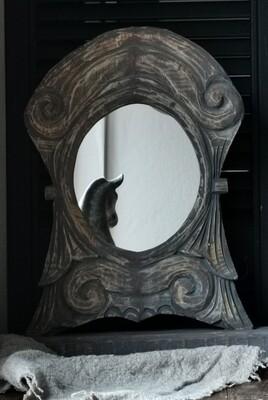Sobere, staande houten Spiegel #3