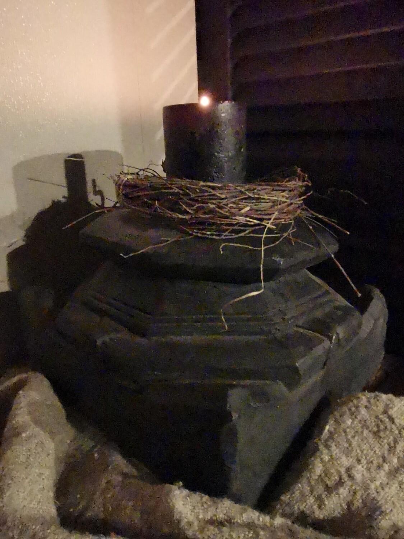 Zwarte houten poer #2