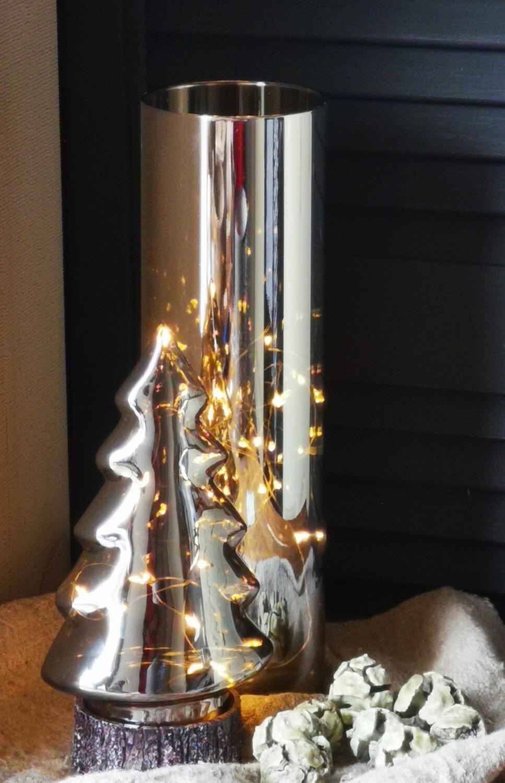 Led cilinder lamp met timer