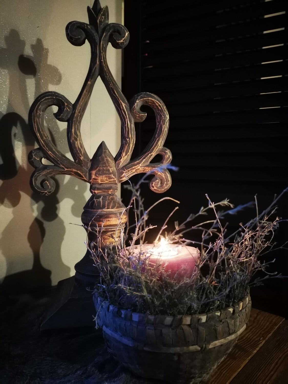 Houten ornament open gewerkt