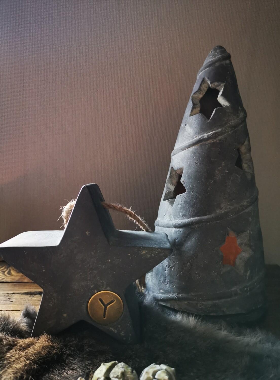 Brynxz kerstboom theelichthouder