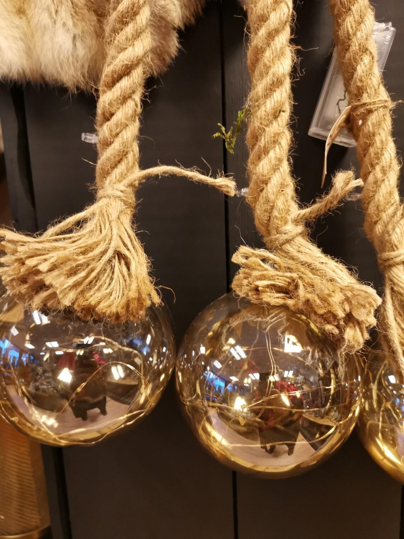 LED bal goud S