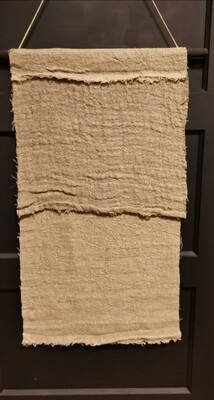 Shabby wanddoek op stok blanco