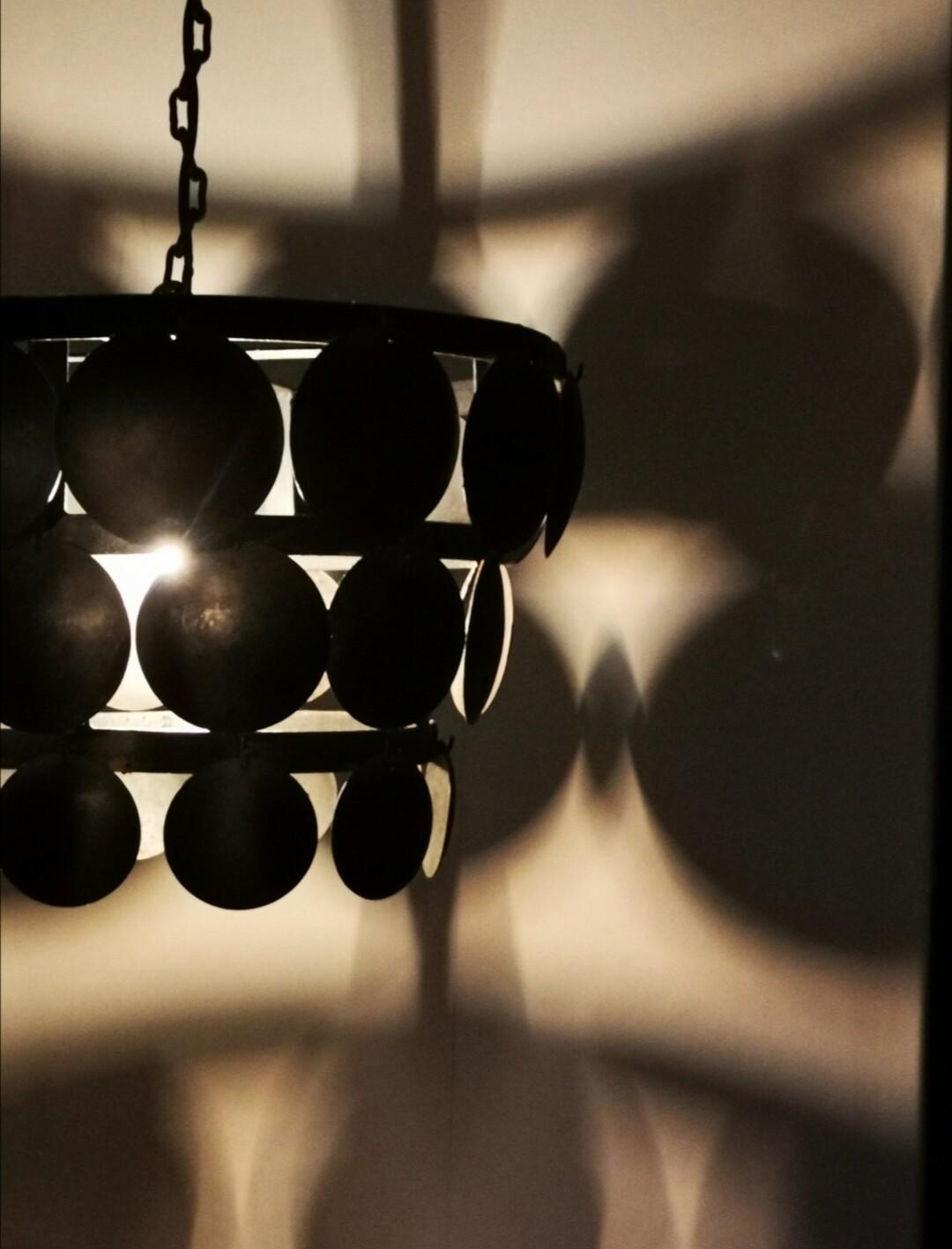 Schijfjeslamp 50cm