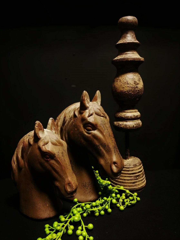 Paardenhoofd bruin S