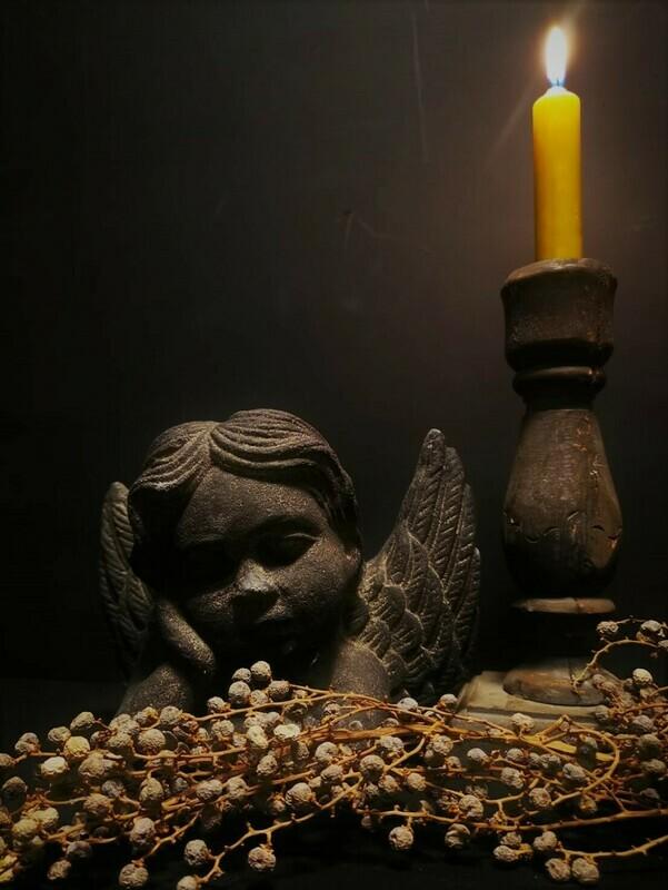 Stenen engel