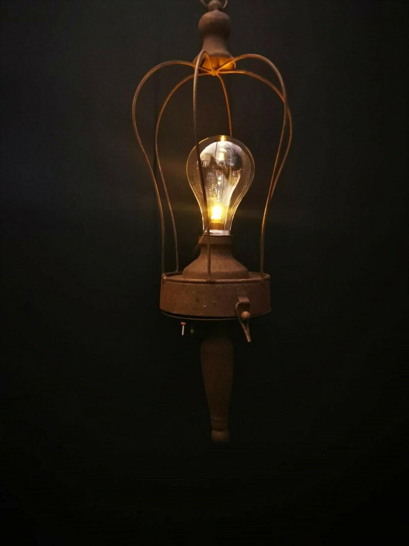 Led lamp op batterijen