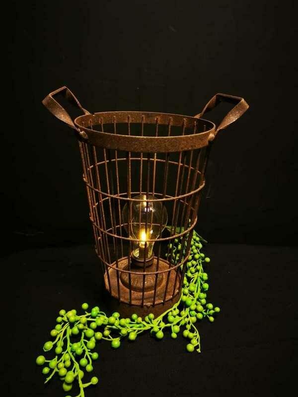 LED lamp mand op batterijen