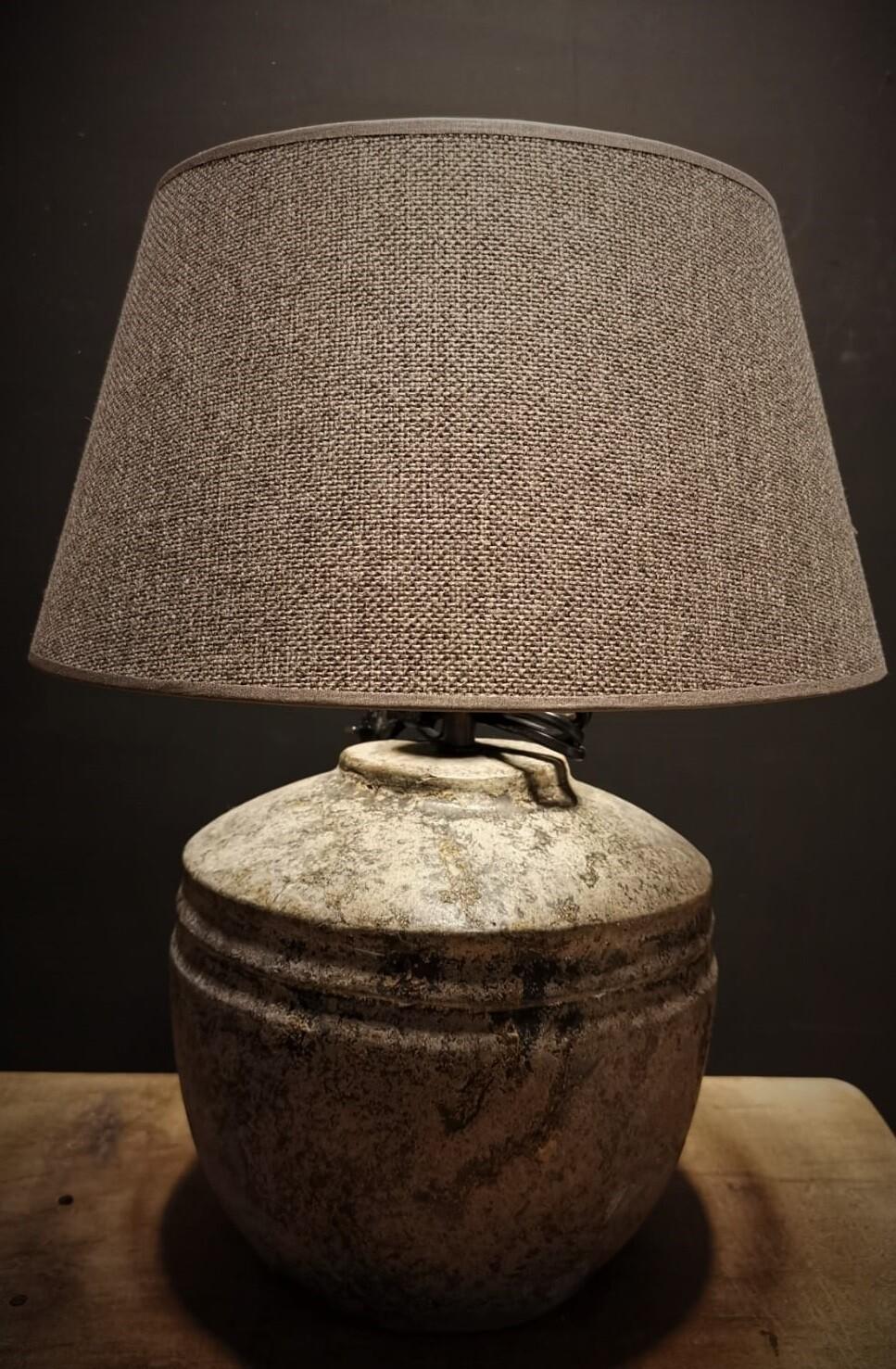 Tafellamp kruik