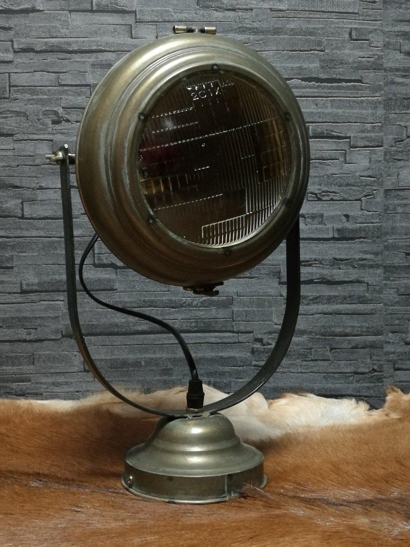 """Wandlamp """"koplamp"""""""