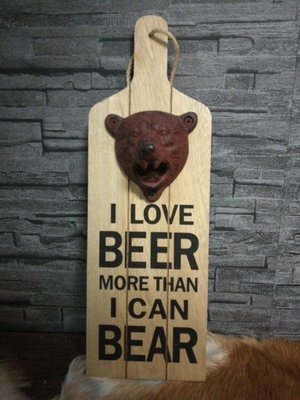 Flessenopener beer