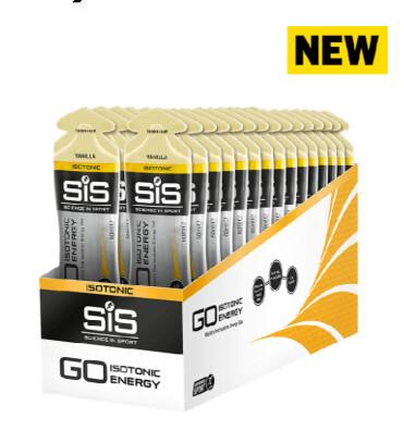 SiS Go Isotonic Energy Gels, Ваниль (упаковка 30шт)
