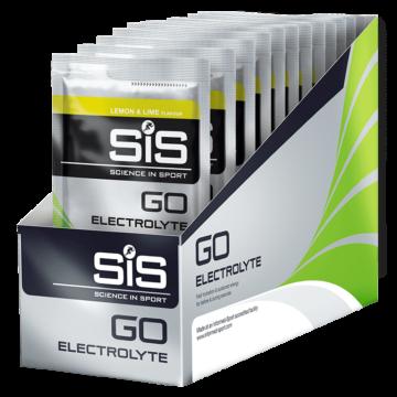 SiS Go Electrolyte Powder, Лимон/Лайм, 40 гр. (упаковка 18 шт.)