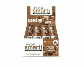 PhD Smart Bar, Солёный Брауни (Упаковка 12 шт)