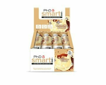 PhD Smart Bar, Белый шоколад (Упаковка 12 шт)