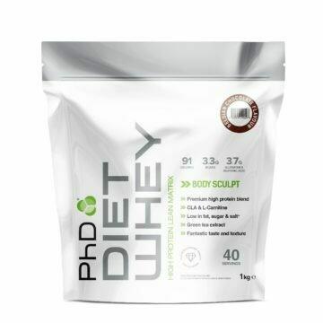 PhD Diet Whey Protein, Бельгийский шоколад, 1кг