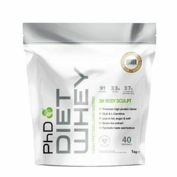 PhD Diet Whey Protein, Белый шоколад, 1кг