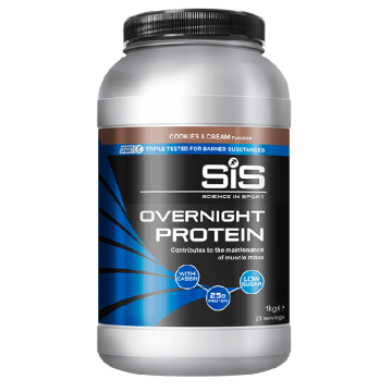 SiS Overnight Protein, Cookies and Cream, 1 кг