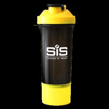 SiS Smart Shaker Black & Yellow, шейкер для напитков, 400 ml.