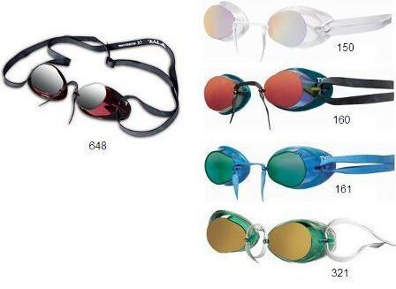 Очки для плавания TYR SOCKET ROCKET™ II METALLIZED