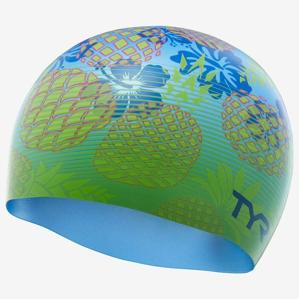 Шапочка для плавания TYR PINEAPPLE FADE SWIM CAP