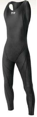 Стартовый костюм для плавания мужской TYR Tracer Light Zipperback Full Body