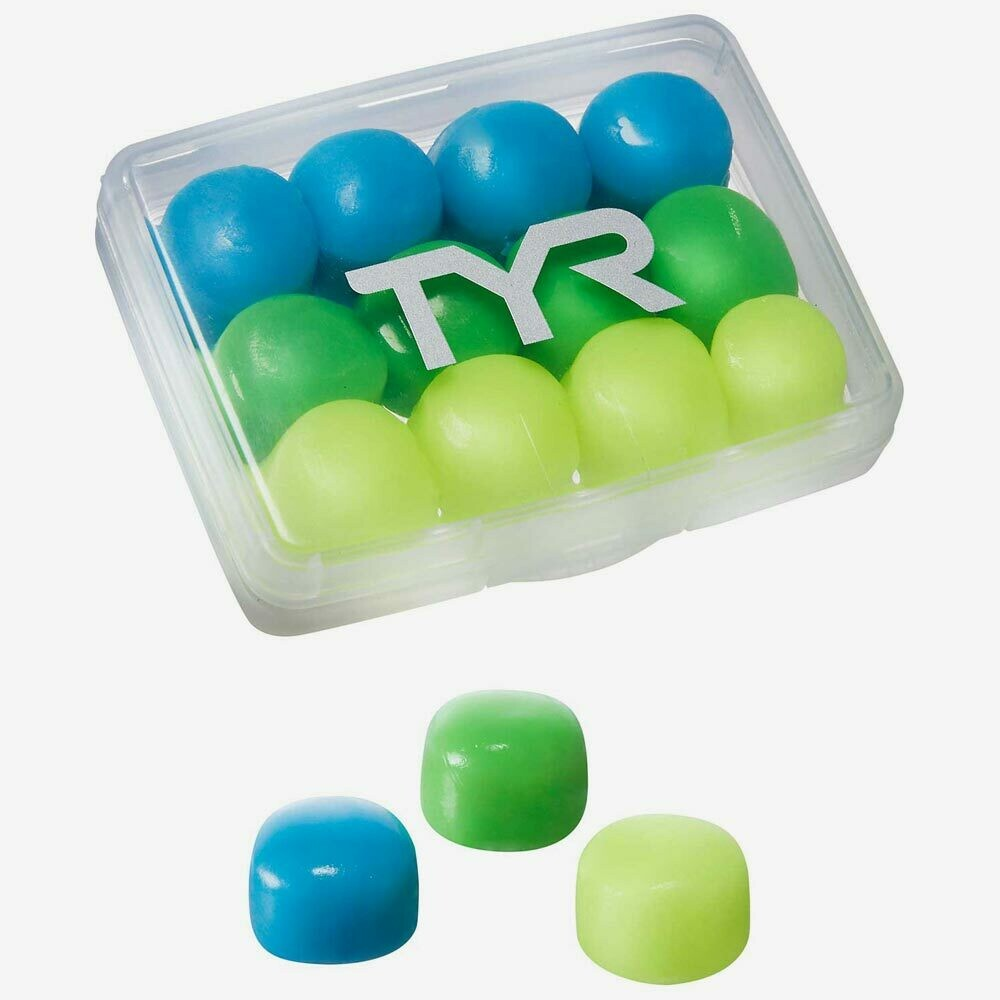 Беруши детские TYR Kids' Soft Silicone Ear Plugs - 12 Pack (6 Pairs)