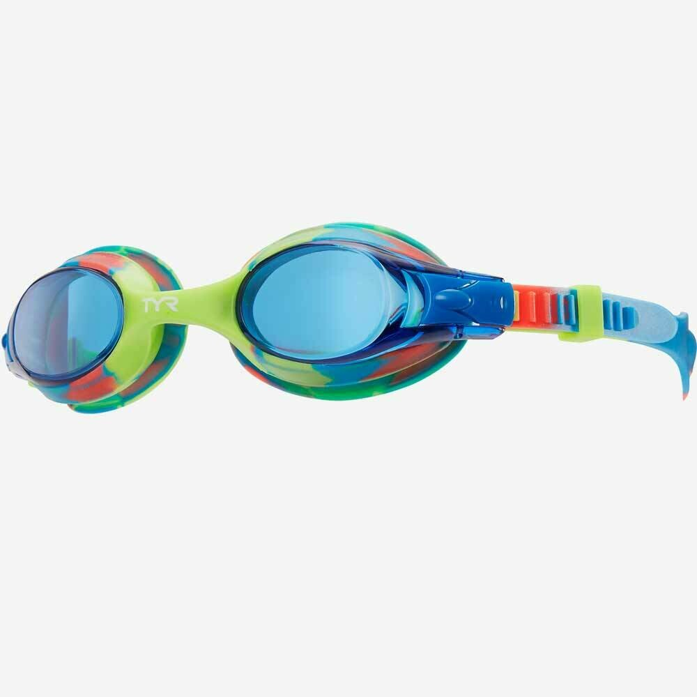 Детские Очки TYR KIDS SWIMPLE TIE DYE GOGGLES