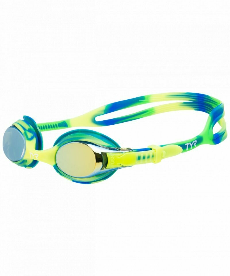 Детские Очки TYR KIDS SWIMPLE TIE DYE MIRRORED GOGGLES