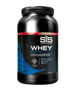SiS Whey Power, Клубника со сливками, 1 035 г