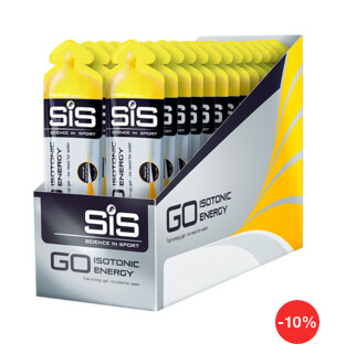 Ананас. SiS Go Isotonic Energy Gels энергетический гель-изотоник, 30 шт по 60 ml
