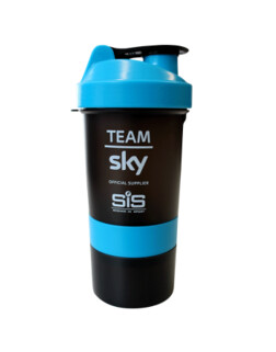 Шейкер пластиковый SiS Smart Shaker blue-black (600ml)