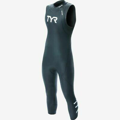 Мужской Гидрокостюм без рукавов TYR Wetsuit Male Hurricane Cat 1 Sleeveless