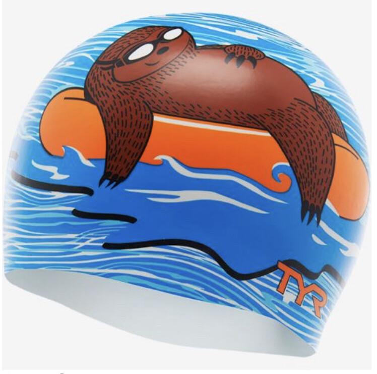 Шапочка для плавания TYR Sloth Silicone Swim Cap