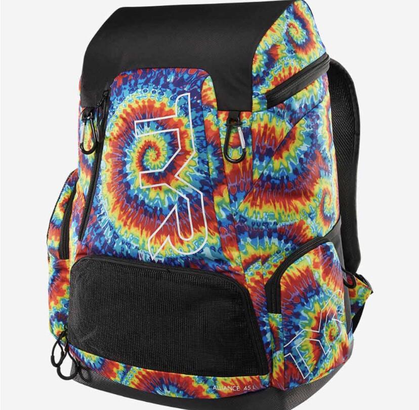 Рюкзак TYR Alliance 45L Backpack - Bohemian Print