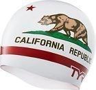 Шапочка для плавания TYR CALIFORNIA REPUBLIC SILICONE SWIM CAP