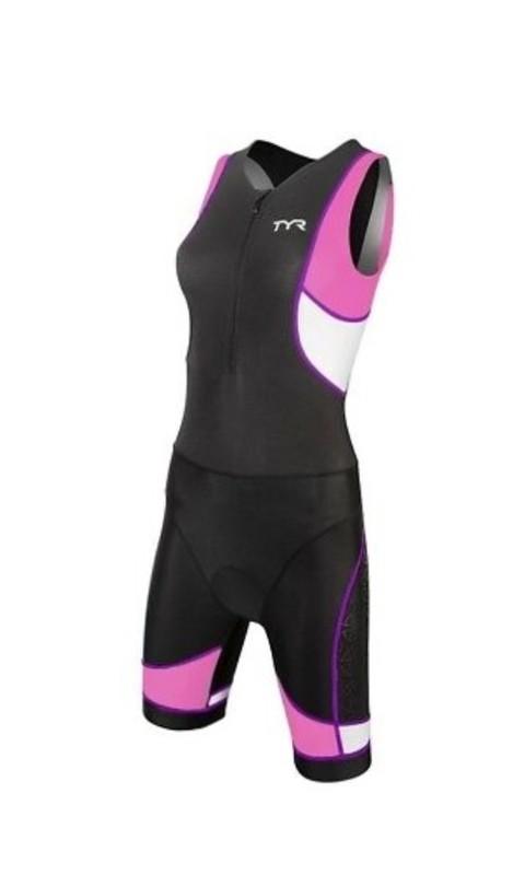 Стартовый костюм для триатлона TYR WOMEN'S COMPETITOR TRISUIT FRON ZIP
