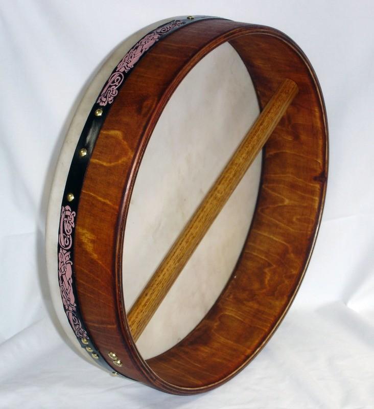 16-inch Solid Rim Bodhran (Non Tuneable)