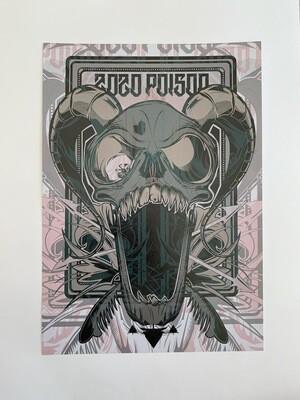 ZoZo Poison A4 Print