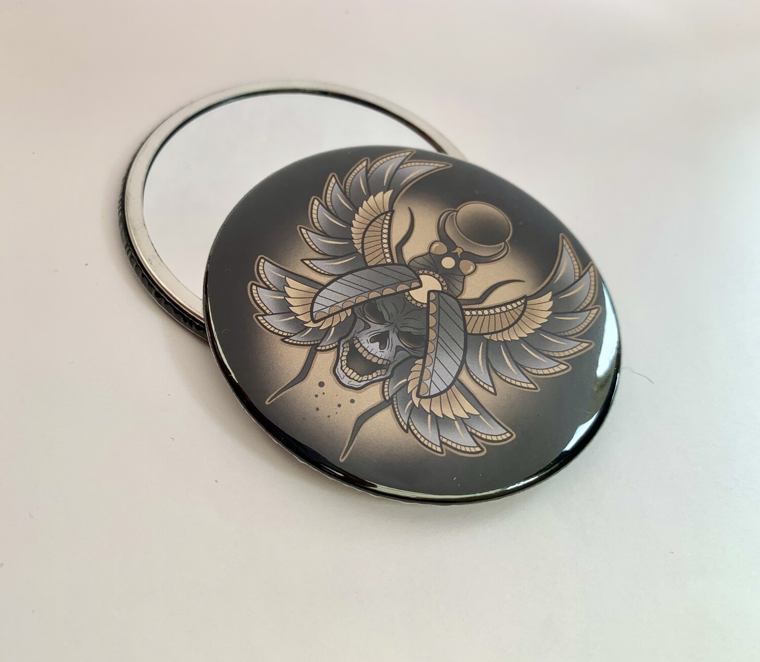 Scarab Pocket Mirror