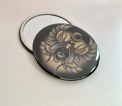Scarab Pocket Mirror