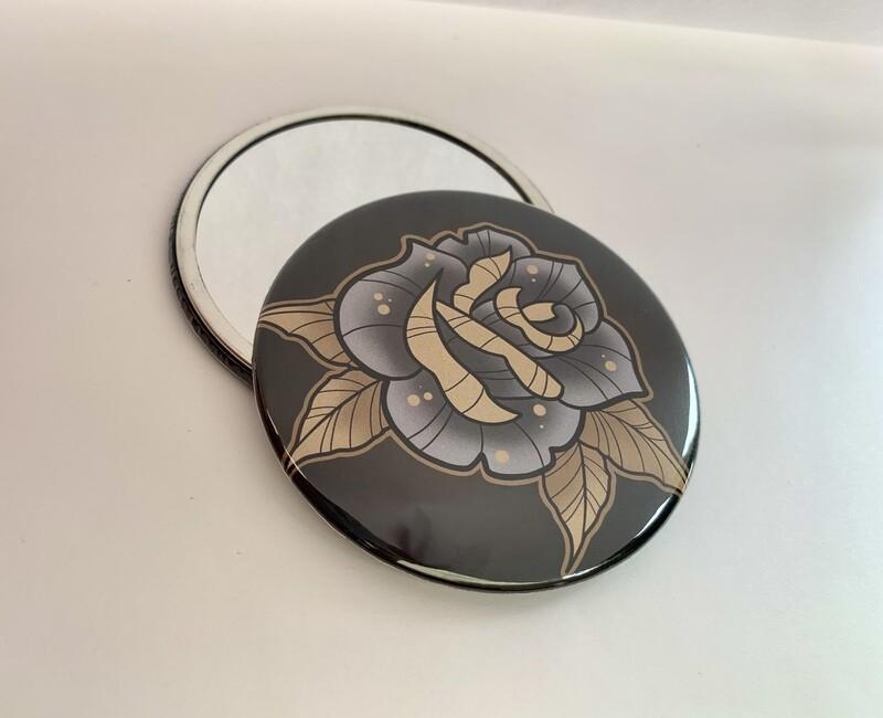 Rose Pocket Mirror