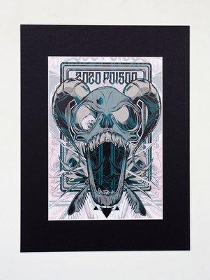 "ZoZo Poison A4 Print (16x12"" mount)"