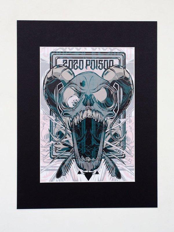 ZoZo Poison A4 Print (16x12