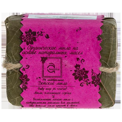 Органическое мыло на основе натуральных масел pH-нейтральное детское мыло Avantika pH-neutral baby soap