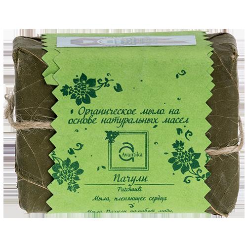 Органическое мыло на основе натуральных масел Пачули Avantika Patchouli