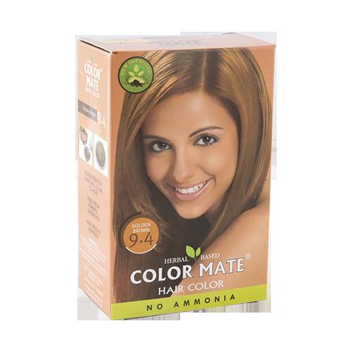 Краска для волос Color Mate Hair Color (тон 9.4, золотисто-коричневый)