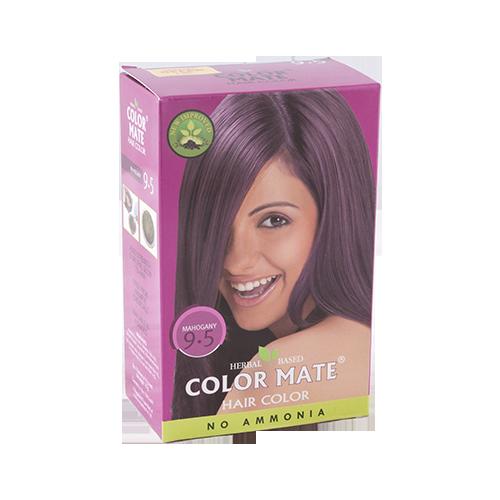 Краска для волос Color Mate Hair Color (тон 9.5, красное дерево)